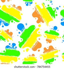 Seamless background vector illustration. Abstract background, colorful patter