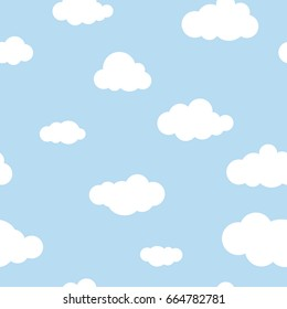 Clouds Background High Res Stock Images Shutterstock Blue clouds and white sky, moon, sunrise, cyan, turquoise, aesthetic. https www shutterstock com image vector seamless background white clouds on blue 664782781