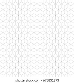 Seamless backround of a grid of 3D cubes