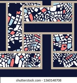 seamless bandanna pattern