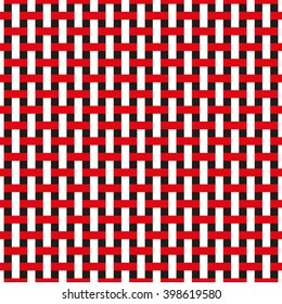 Seamless Basket Weave Abstract Background Pattern