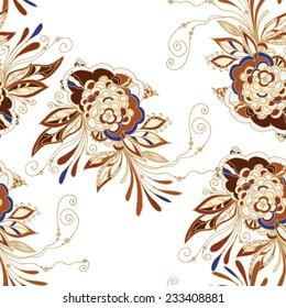 Seamless batik pattern