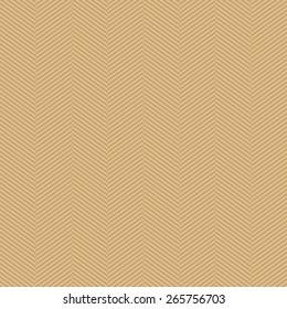 Seamless beige slim perfect op art herringbone pattern vector