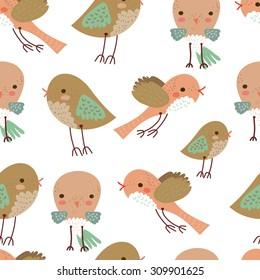 Seamless birds