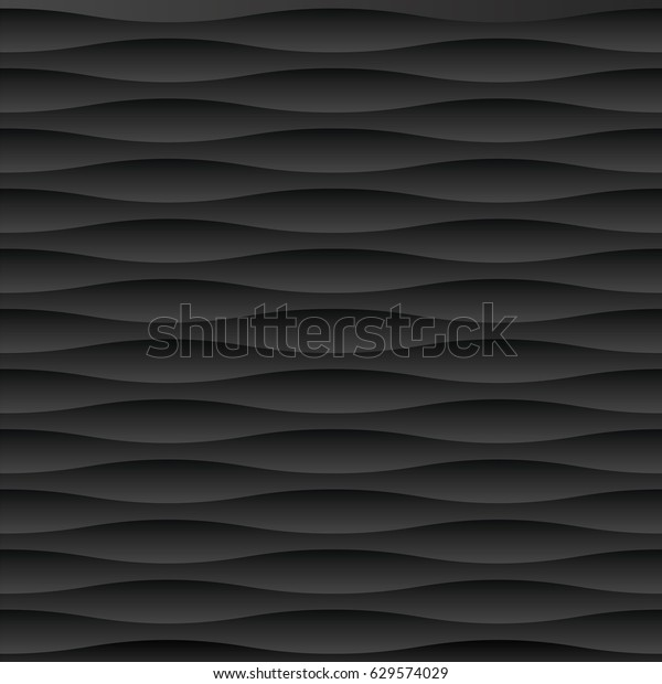 Seamless Black Abstract Dark Shadow Pattern Stock Vector Royalty