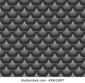 seamless black dark background fish scales