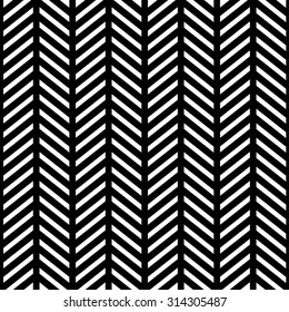 Seamless black and white background with geometric shapes and lines
