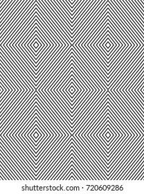 Seamless  of black and white rhombus pattern
