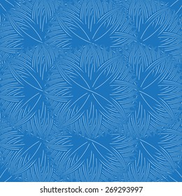 Seamless blue background line shape abstract