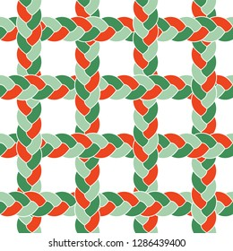 seamless braid pattern square grid hair vector mosaic Buy this get similar 6 pattern free (items placed in the swatches panel)