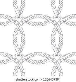 seamless braid pattern vector mosaic hair circular  Buy this get similar 6 pattern free (items placed in the swatches panel)