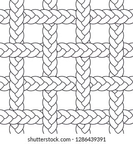 seamless braid pattern vector mosaicBuy this get similar 6 pattern free (items placed in the swatches panel)