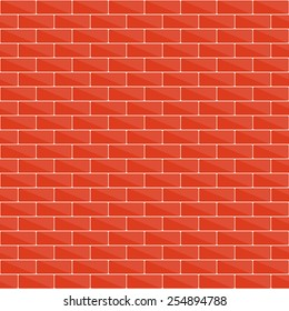 Seamless brick wall pattern for your design