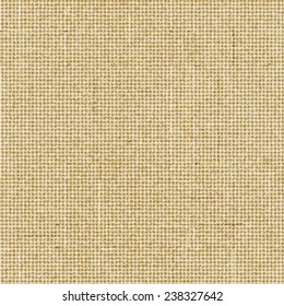 Seamless brown rough sack texture Vector illustration.