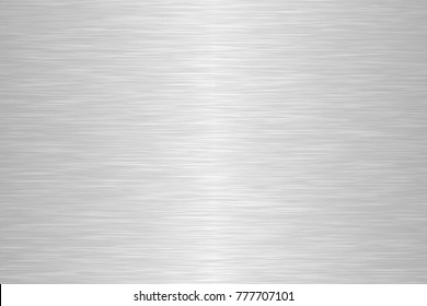 Seamless brushed metal texture. Vector illustration.