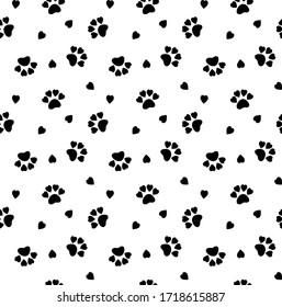 seamless cat pattern.  cat background, texture, pattern, wallpaper, textile