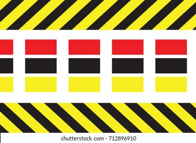 seamless caution tapes