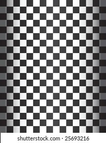 Seamless Checker Pattern - vector illustration
