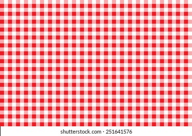 Seamless Checkered Pattern. red tartan, 10 eps