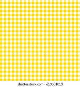 a12c8da57 Seamless checkered vector pattern. Seamless checkered vector pattern.  Coarse vintage yellow plaid fabric texture