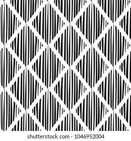 Seamless chess rhombus pattern