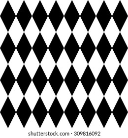 seamless chess rhombus pattern