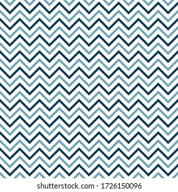 Seamless chevron with blue color, vector illustration