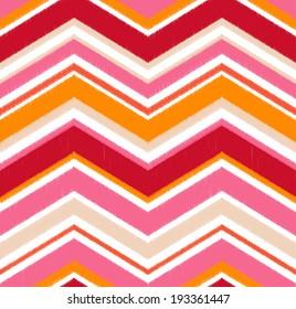 seamless chevron stripes pattern