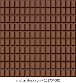 Seamless chocolate pattern. Vector