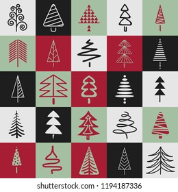 seamless christmas pattern for every background
