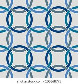 Seamless circle geometric pattern