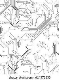 Seamless circuit board pattern