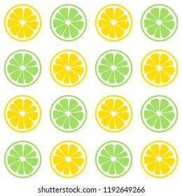 seamless citrus pattern for backgrounds