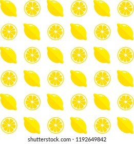 seamless citrus pattern for every background