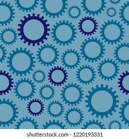 Seamless Cogwheel Background