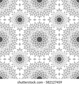 seamless colorful fancy background pattern, mediterranean theme