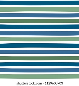 Seamless colorful pattern with horizontal stripes. Pattern can be used for fabric design, t-shirts and textiles. Print for polygraphy, wallpaper, wrapping papers, notebook. Vector background.