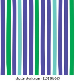 Seamless colorful pattern with vertical stripes. Pattern can be used for fabric design, t-shirts and textiles. Print for polygraphy, wallpaper, wrapping papers, notebook. Vector background.