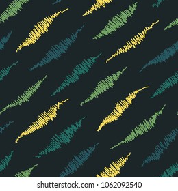 seamless colorful skratches pattern texture element on dark background
