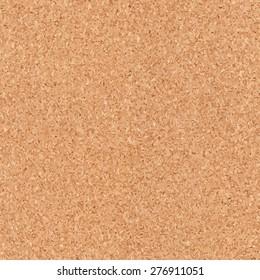 Seamless cork texture. Vector illustration.