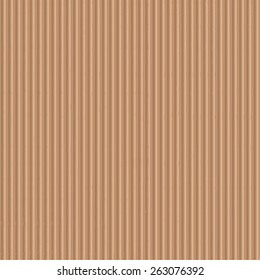 Seamless of corrugated cardboard