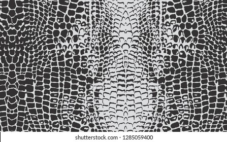 Seamless Crocodile Skin Pattern