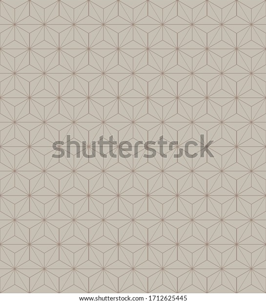 seamless cube pattern background with monochrome color shades