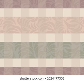Seamless damask pattern. Endless pattern can be used for ceramic tile, wallpaper, linoleum, web page background