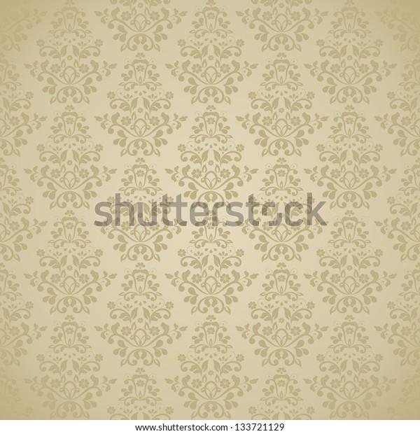 seamless damask pattern. eps10