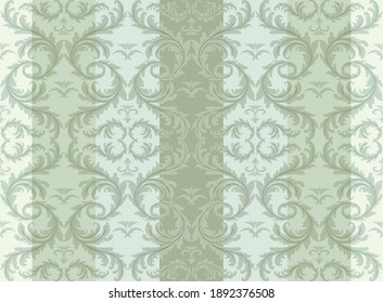 seamless damask pattern. Vintage ornament. Use for wallpaper, printing on the packaging paper, textiles.