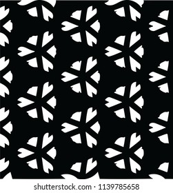Seamless decorative abstract pattern vector design element