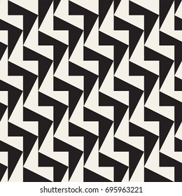 Seamless decorative background. Vector geometric tiling pattern. Minimalistic abstract design