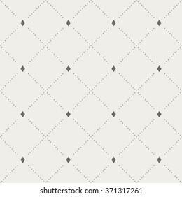 Seamless Decorative Geometric Pattern
