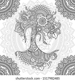 seamless decorative ornament ethnic oriental 260nw